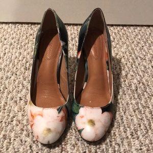 Corso Como Heels. Floral. Size 7. Worn 3 times.